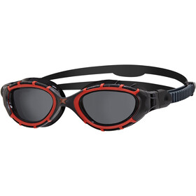 Zoggs Predator Flex Polarized Lunettes de protection L, red/black/smoke polarized